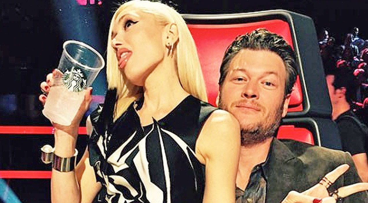 The voice Songs | Gwen Stefani Runs Into Blake Shelton's Arms, Showing Major PDA During 'The Voice' | Country Music Videos