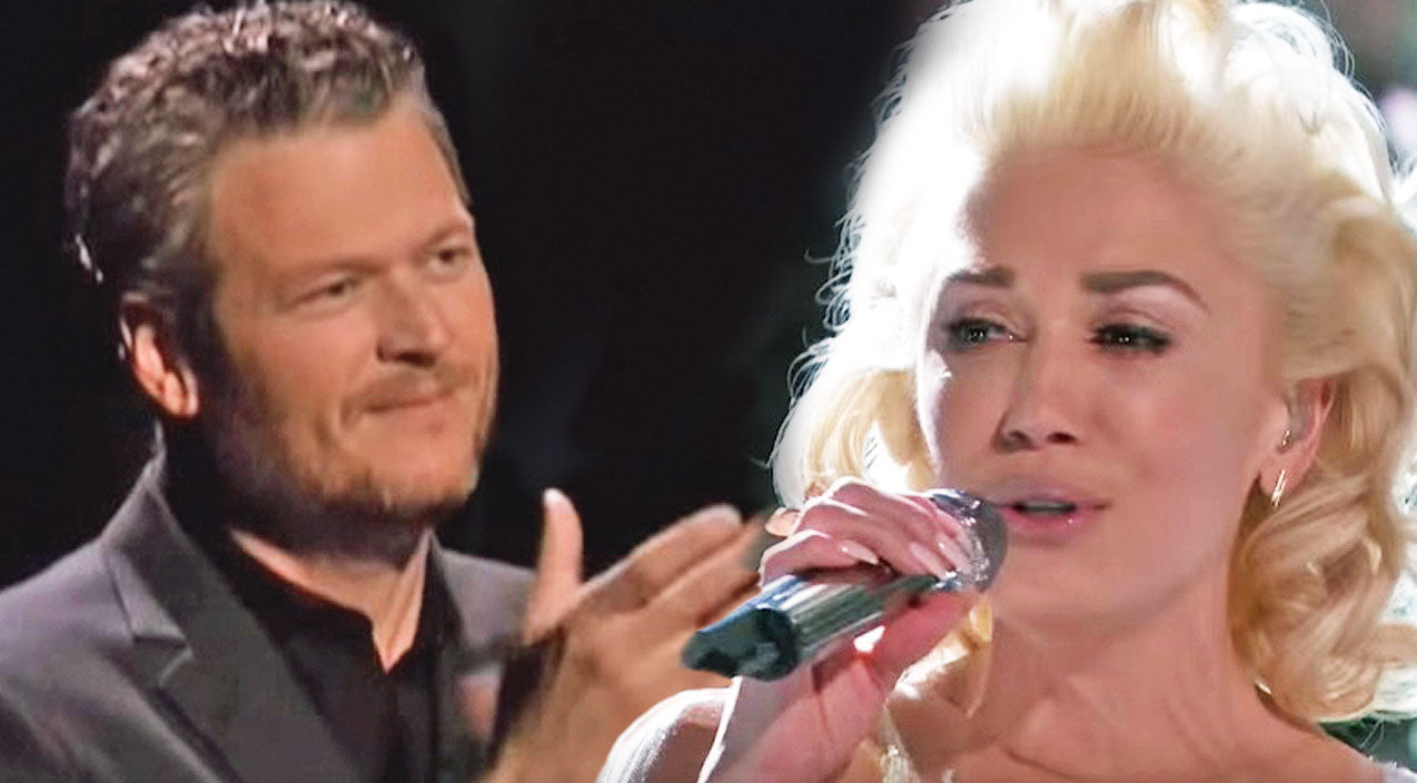 The voice Songs | Blake Shelton Gives Gwen Stefani Standing Ovation Following Tearful 'Voice' Performance | Country Music Videos