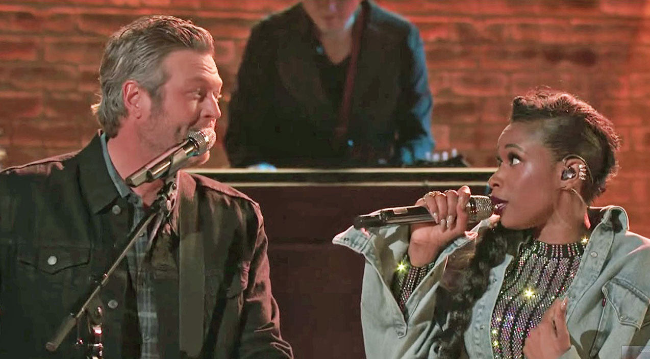 The voice Songs | Blake Shelton & Jennifer Hudson Team Up For One Of The Cutest 'Voice' Duets You'll Ever See | Country Music Videos