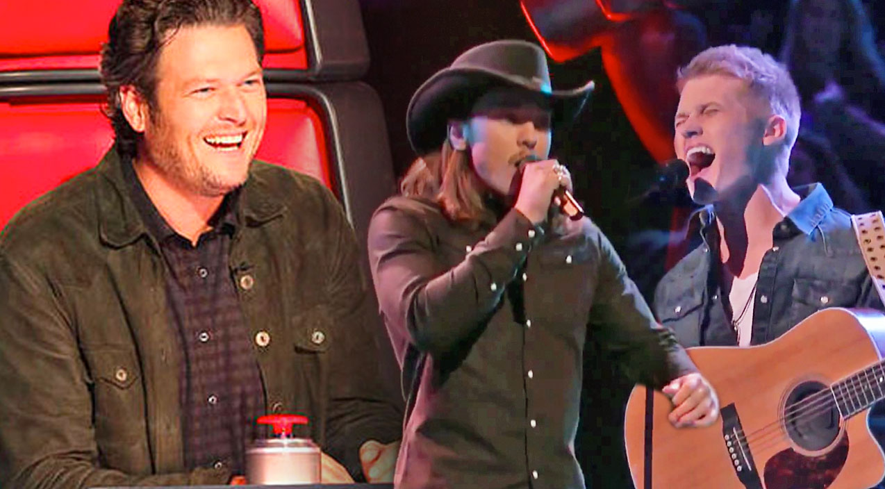 Justin moore Songs | Team Blake's Controversial Country Knockout Round on The Voice (VIDEO) | Country Music Videos