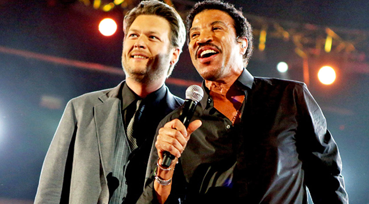 Lionel richie Songs | Blake Shelton And Lionel Richie Shine In 'You Are' Duet | Country Music Videos
