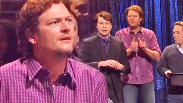 Blake shelton Songs | Blake Shelton Heckles Magician (Hilarious SNL Skit) (VIDEO) | Country Music Videos
