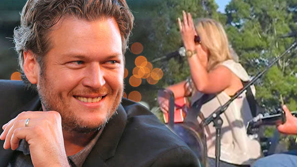 Miranda lambert Songs | Miranda Lambert Flashes Naked Ring Finger At Blake Shelton During