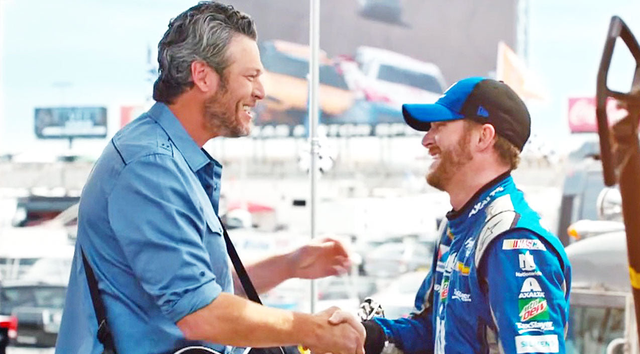 Nascar Songs | Blake Shelton Debuts New Video That Will Get You Pumped Up For NASCAR | Country Music Videos