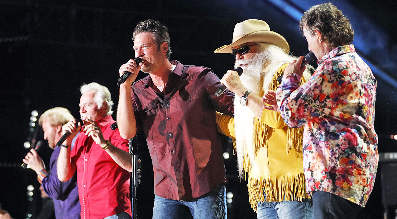 Oak ridge boys Songs | Blake Shelton & The Oak Ridge Boys Deliver UNFORGETTABLE Medley During CMA Fest | Country Music Videos