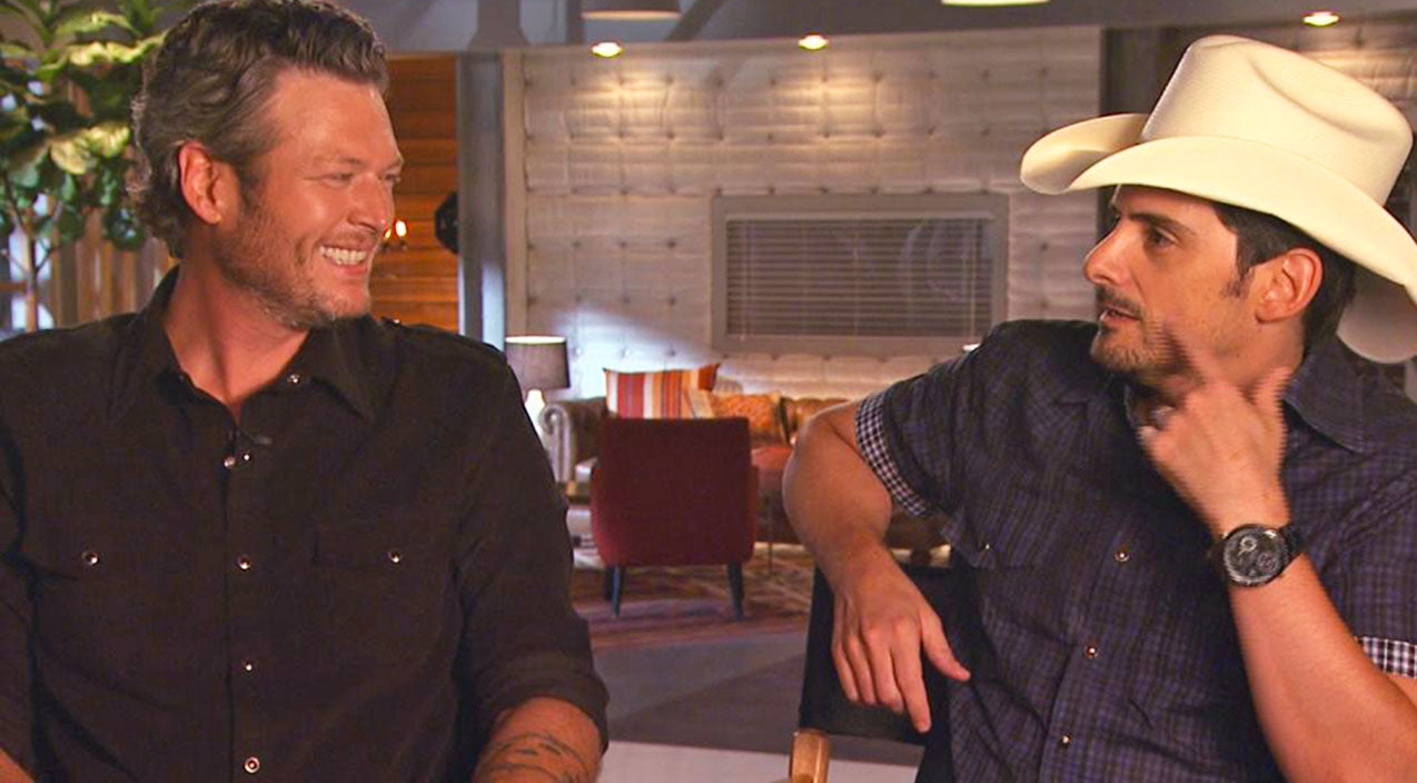 The voice Songs | Brad Paisley Puts Blake Shelton 'On Blast' For Participating In Pageants As A Kid! | Country Music Videos