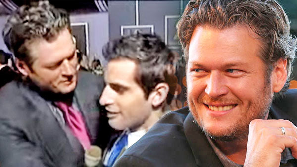 Blake shelton Songs | Blake Shelton Kisses Male Reporter on Red Carpet (Funny Interview!) (VIDEO) | Country Music Videos