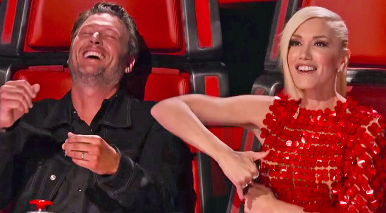 The voice Songs | Gwen Stefani Impersonates Blake Shelton, And Completely Nails It | Country Music Videos