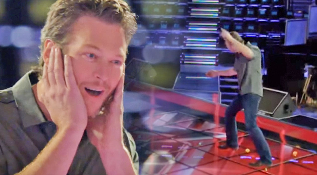 The voice Songs | Blake Shelton Channels His Inner Elvis Presley In Hilarious 'Voice' Outtakes | Country Music Videos