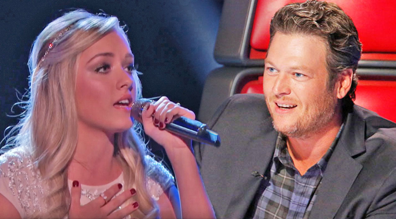 The voice Songs   Blake Shelton Saves Voice Contestant After Her Heavenly Rendition Of 'In The Garden'   Country Music Videos