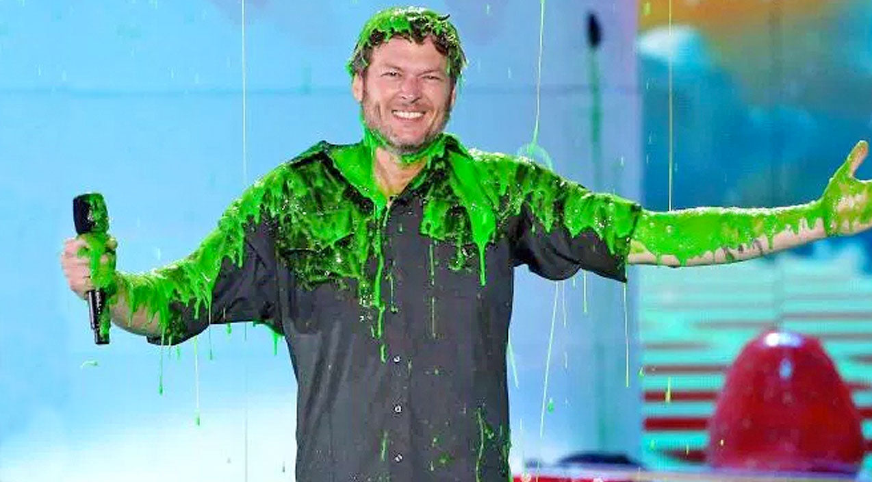 Blake shelton Songs | You Won't Believe What Blake Shelton Says After Getting SLIMED! | Country Music Videos