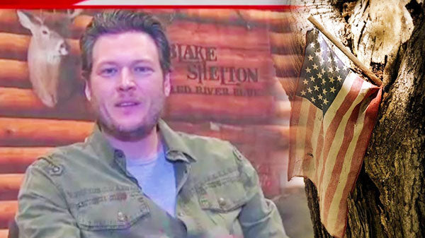 Blake shelton Songs | Blake Shelton's Salute to the Troops | Country Music Videos