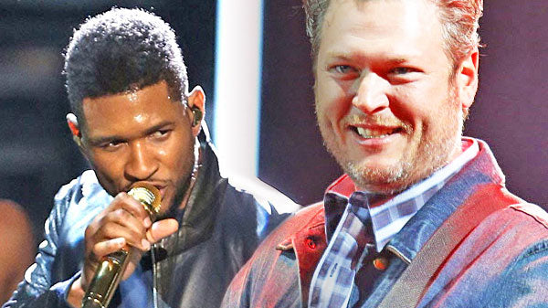 Usher Songs | Blake Shelton and Usher Entertain Us With The Gap Band's