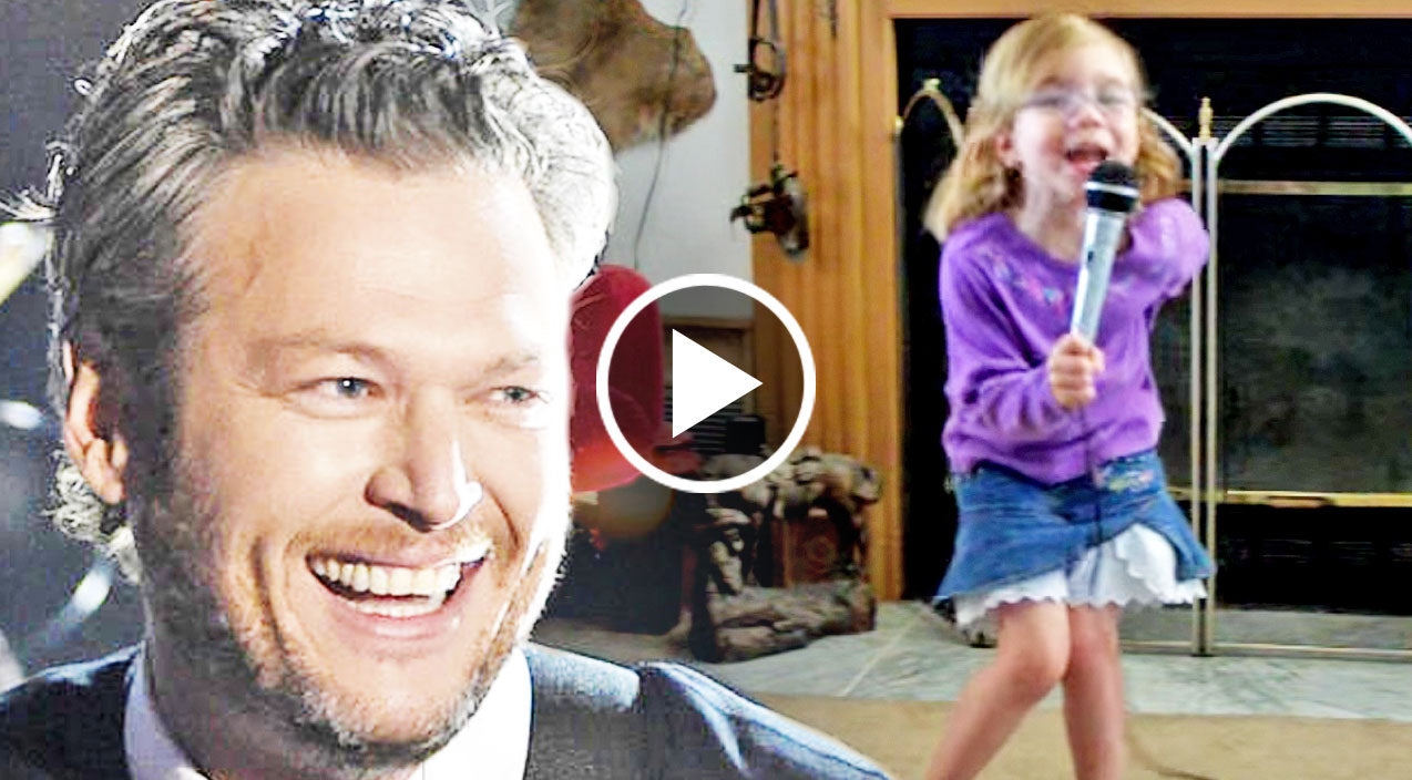 4 year old performs blake shelton s the more i drink