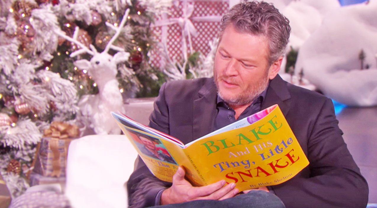 Kelly clarkson Songs | Blake Shelton Reads His Hysterically Inappropriate Children's Book | Country Music Videos