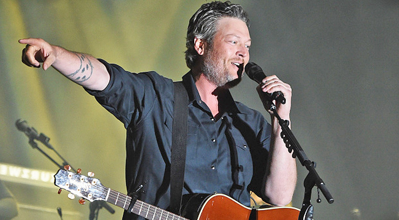 Blake shelton Songs | Blake Shelton Interrupts Show To Help A Marine Pop The Question | Country Music Videos
