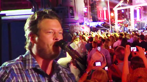 Blake shelton Songs | Blake Shelton - Boys 'Round Here (Live Performance at CMT Music Awards Festival) | Country Music Videos
