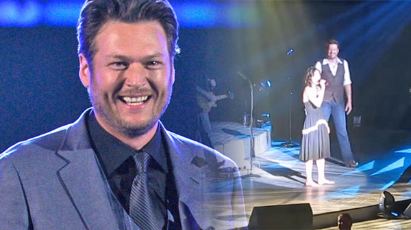 Dia frampton Songs | Blake Shelton Pranked (Plus Duet With Dia Frampton) (LIVE) | Country Music Videos