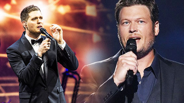 Blake shelton Songs | Michael Buble and Blake Shelton - Home (VIDEO) | Country Music Videos