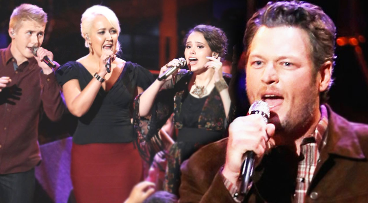 Blake and His Team's Surprising 'In The Midnight Hour' Performance (WATCH) | Country Music Videos