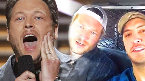 Luke bryan Songs | Blake Shelton and Luke Bryan in Back Seat of Police Car! (VIDEO) | Country Music Videos