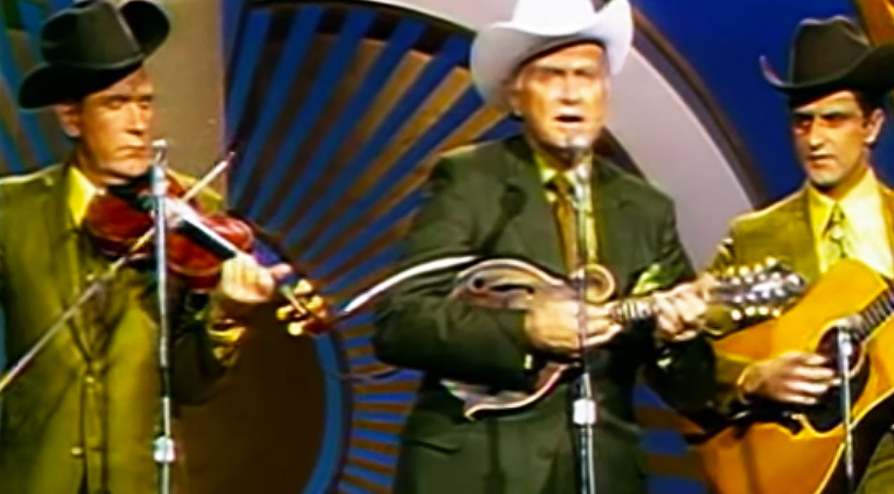 Bluegrass Songs | Bill Monroe Defines Bluegrass With Mind-Blowing 'Blue Moon Of Kentucky' Performance | Country Music Videos