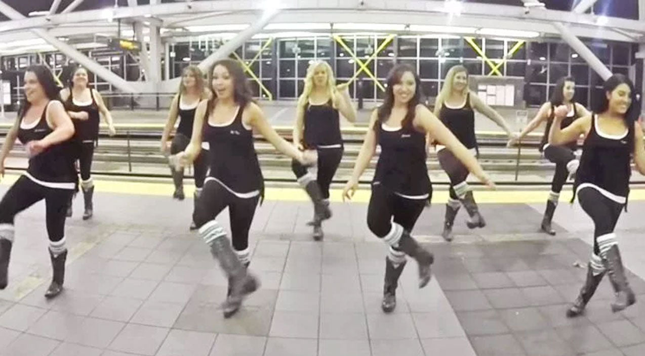 Luke bryan Songs | Boot Boogie Babes Go On The 'Move' In Spunky Luke Bryan Line Dance | Country Music Videos
