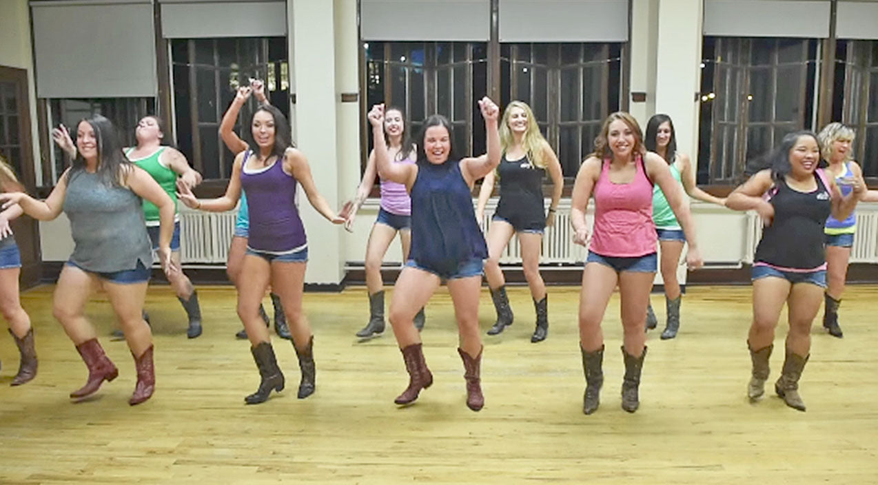 Luke combs Songs | We Can't Stop Smiling At The Boot Boogie Babes' Fun Routine To Infectious Country Song | Country Music Videos