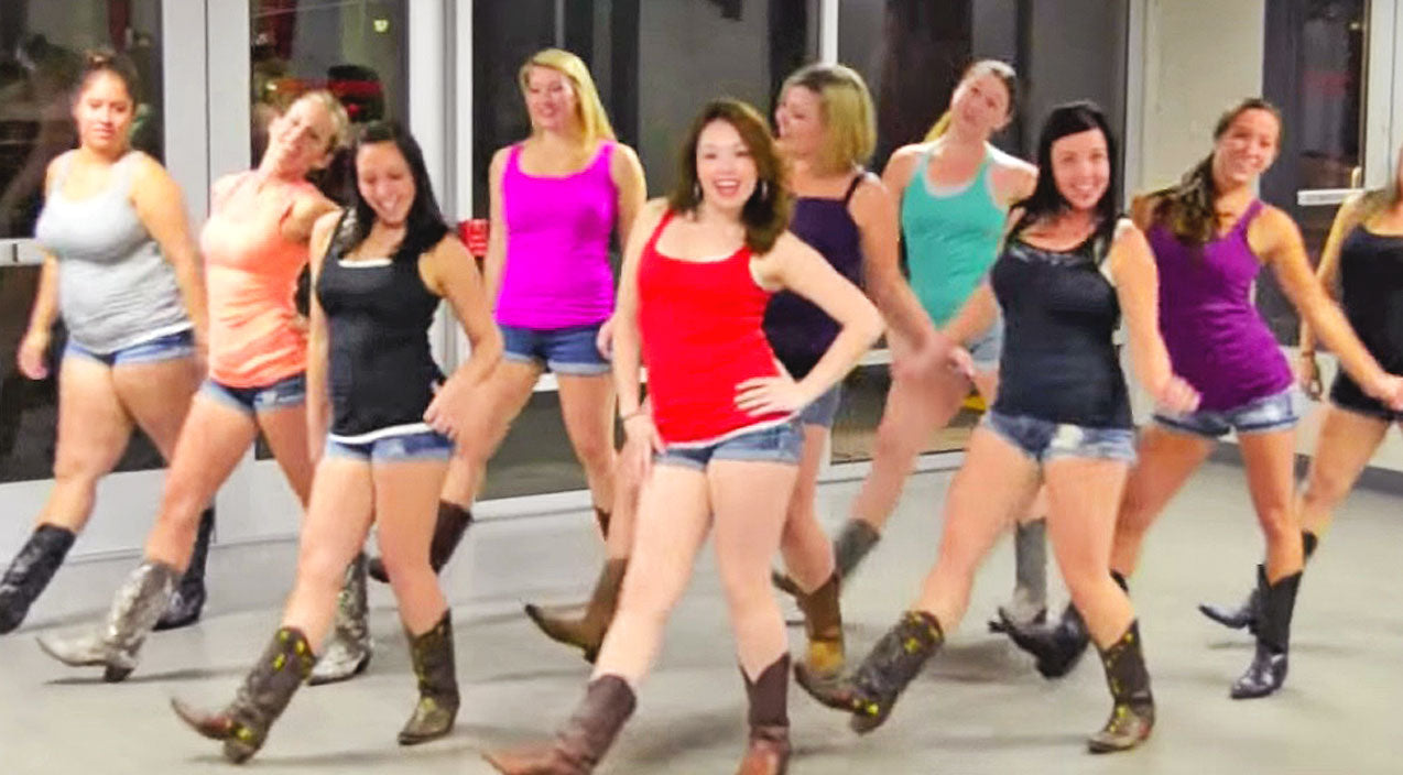 Modern country Songs | Boot Boogie Babes Groove To Major Country Hit In Smokin' Hot Line Dance | Country Music Videos
