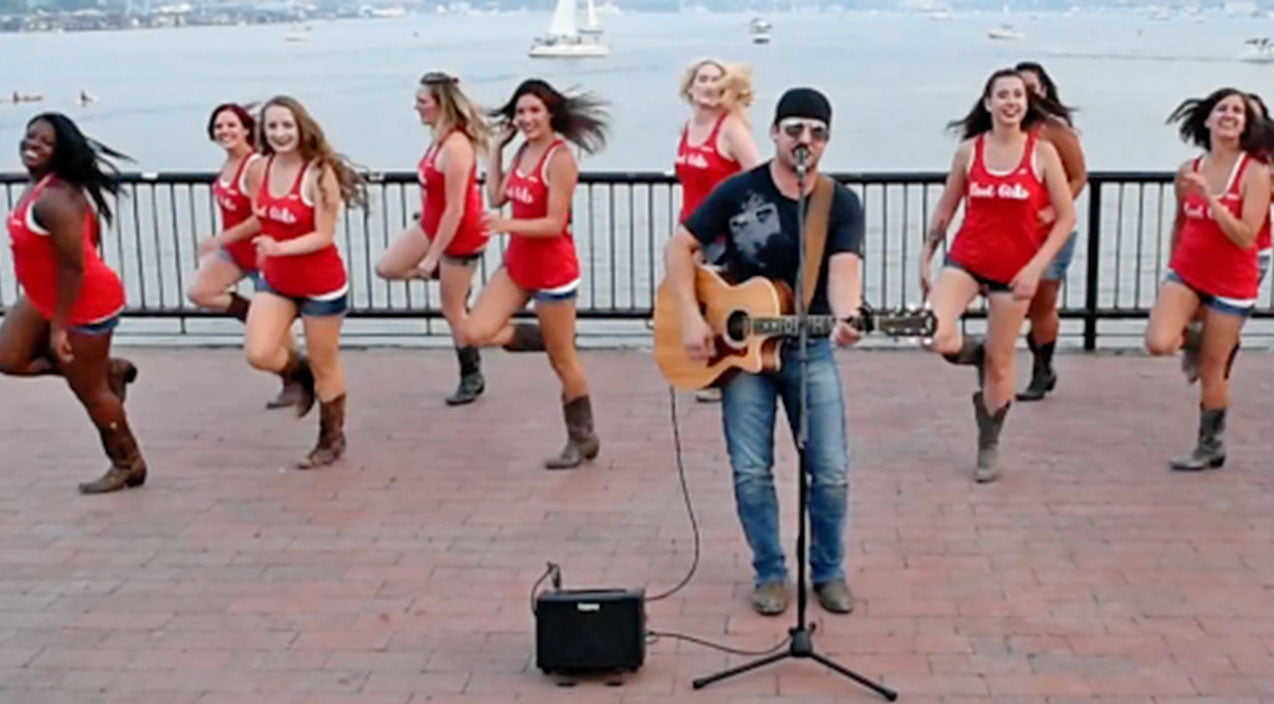 Line dancing Songs | Watch These Line Dancin' Ladies Get Super Flirty To Sassy Country Hit | Country Music Videos