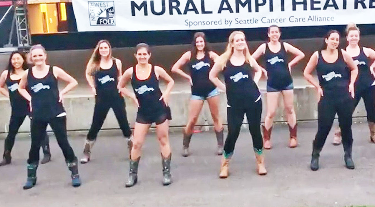 Modern country Songs | Watch These Line Dancin' Ladies Get Down & Groove To A Hot Country Hit | Country Music Videos