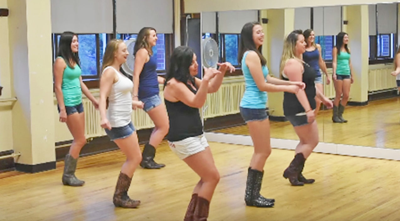 Kenny loggins Songs | The Boot Girls Tear Up The Dance Floor With Sexy 'Footloose' Line Dance | Country Music Videos