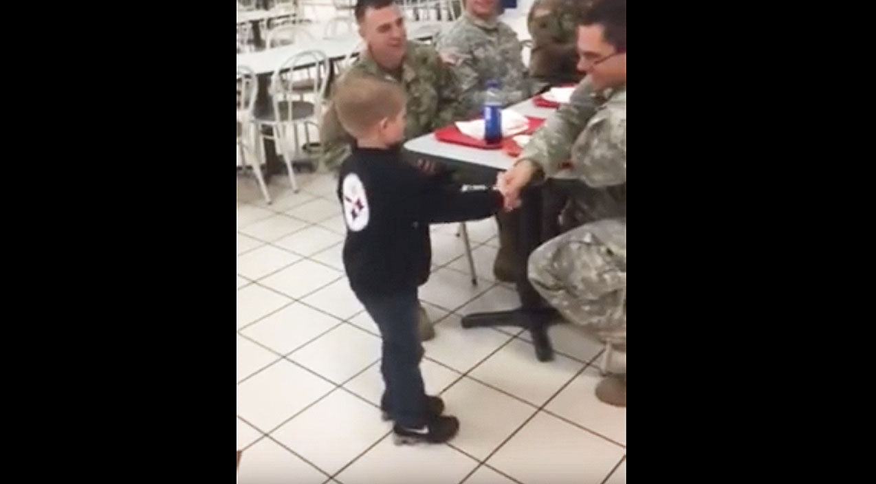 Viral content Songs | 5-Year-Old Boy Epically Thanks U.S. Soldiers In Emotional Video | Country Music Videos