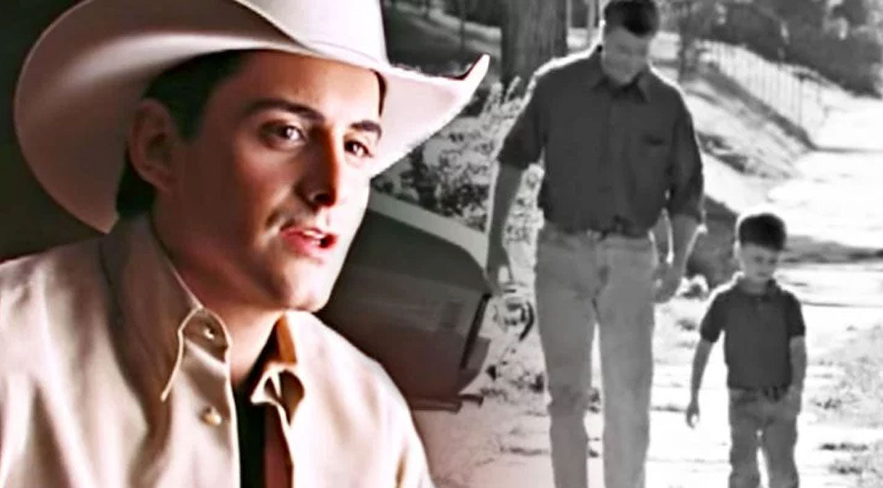 Brad paisley Songs   Brad Paisley Honors Stepfathers In Heart-Melting 'He Didn't Have To Be'   Country Music Videos