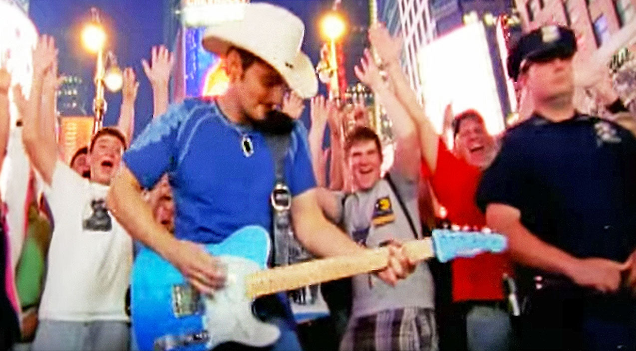 Brad paisley Songs | Brad Paisley Kicks Off New Year With Reflective Song 'Welcome To The Future' | Country Music Videos