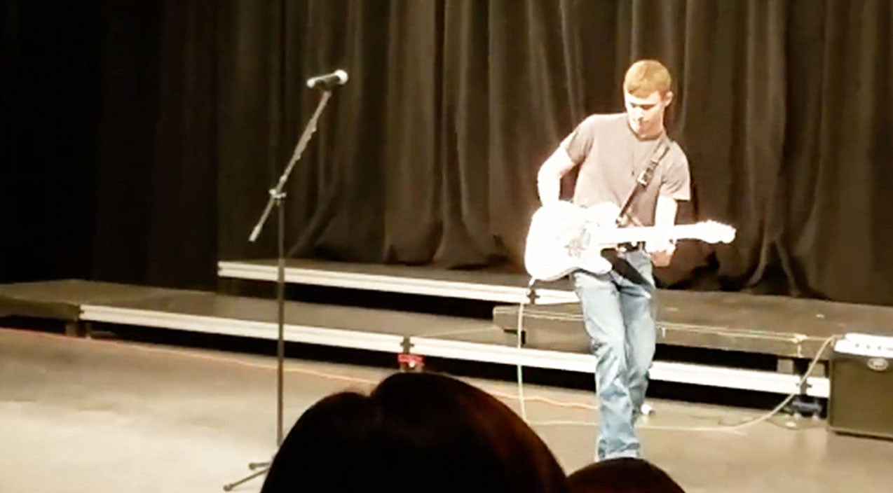 Modern country Songs | Kid Wins Talent Show With Kick Ass Brad Paisley Performance | Country Music Videos