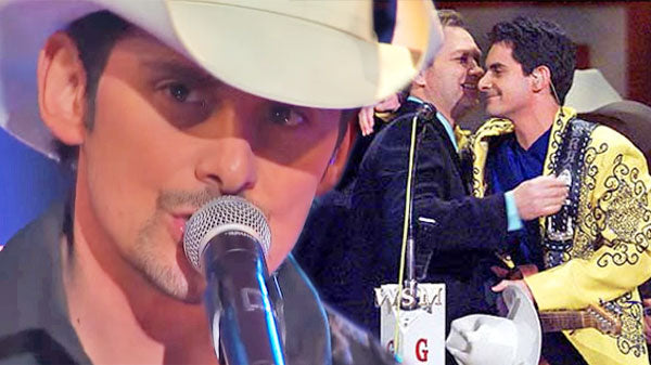 Brad paisley Songs | Brad Paisley's Induction Into The Grand Ole Opry (VIDEO) | Country Music Videos