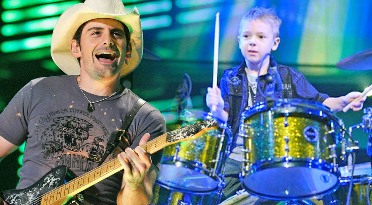 Brad paisley Songs | Wow! This 6-Year-Old Drummer Is SO Talented, He Will Blow Y'all Away! (VIDEO) | Country Music Videos