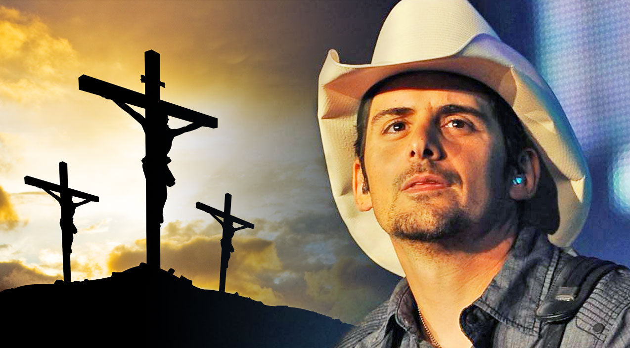 Classic country Songs | Brad Paisley Brings Endless Tears With Beloved 'Old Rugged Cross' | Country Music Videos