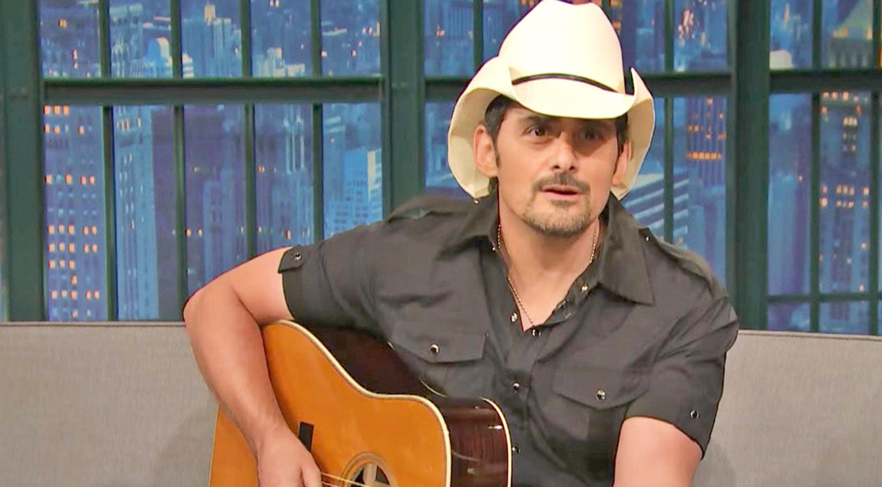 Modern country Songs | Brad Paisley Brings The Laughs With Silly Parody Of One Of His Songs | Country Music Videos