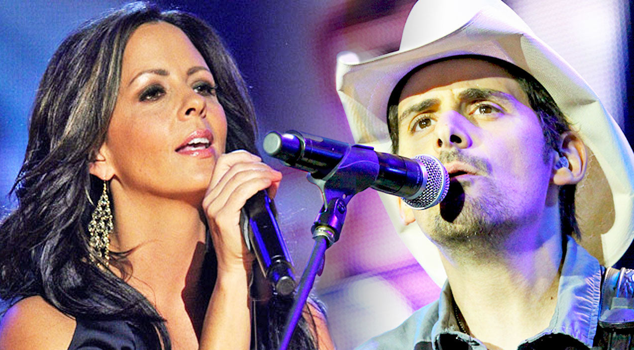 Sara evans Songs | Brad Paisley & Sara Evans Share Praise For Jesus In Compelling Duet 'New Again' | Country Music Videos