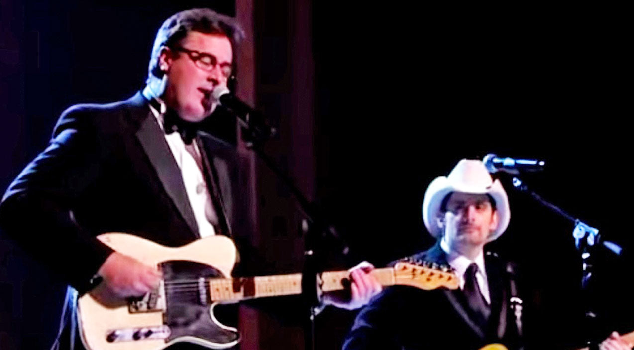 Vince gill Songs | 3. Brad Paisley & Vince Gill | Country Music Videos
