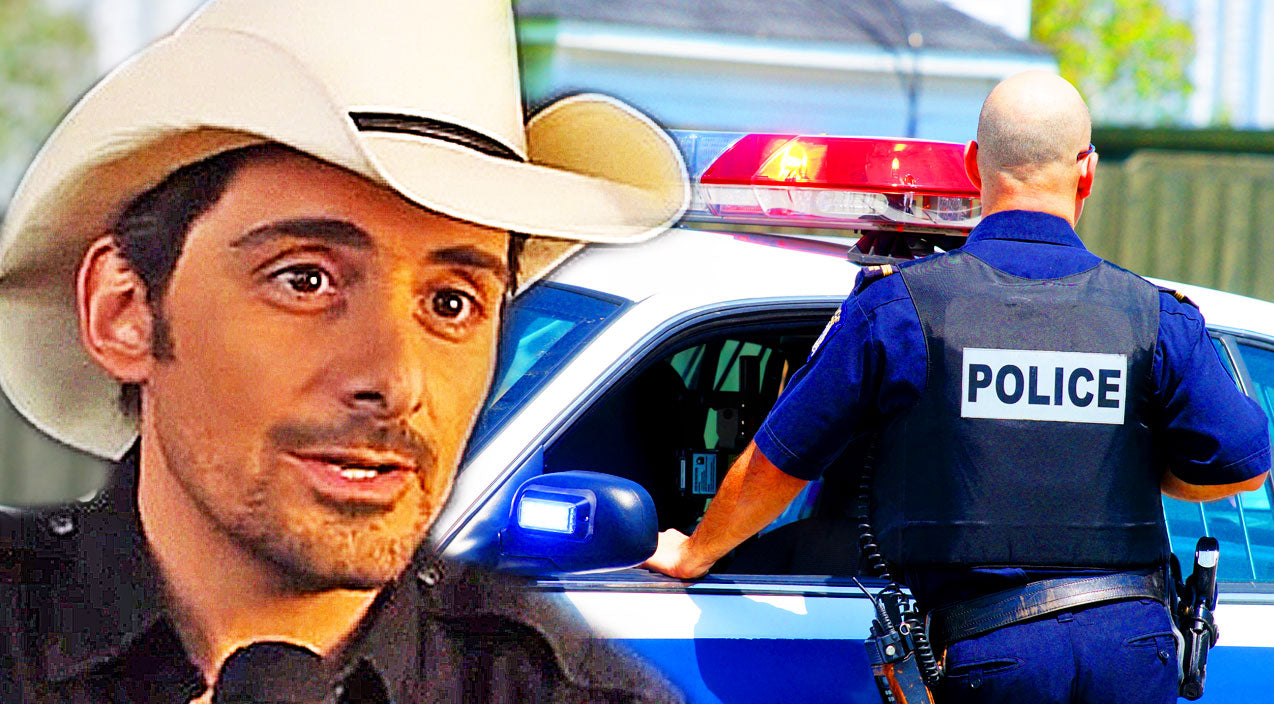 Classic country Songs | Brad Paisley Gets Arrested??? | Country Music Videos