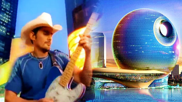 Brad paisley Songs | Brad Paisley - Welcome to the Future | Country Music Videos
