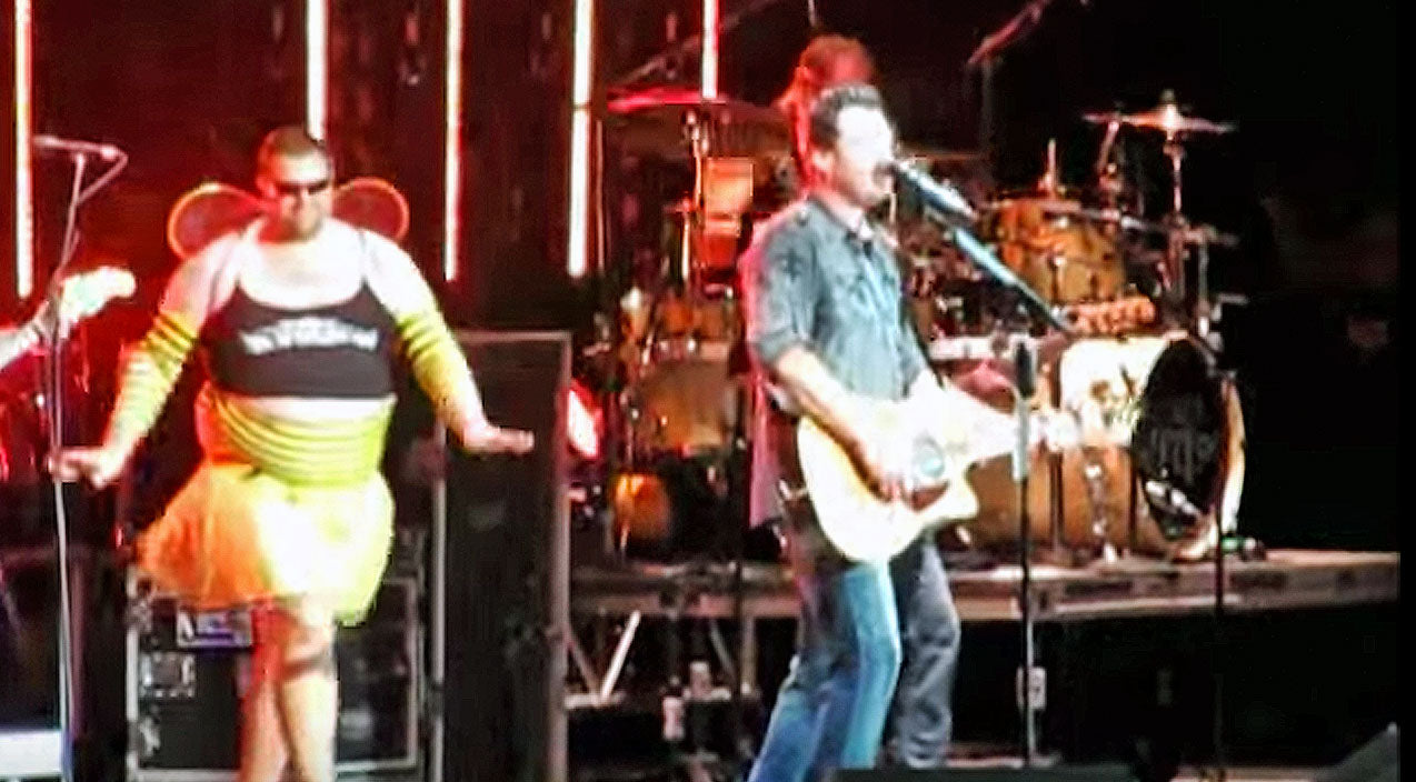 Brad paisley Songs | Brad Paisley Surprises Blake Shelton With Hysterical Onstage Prank | Country Music Videos