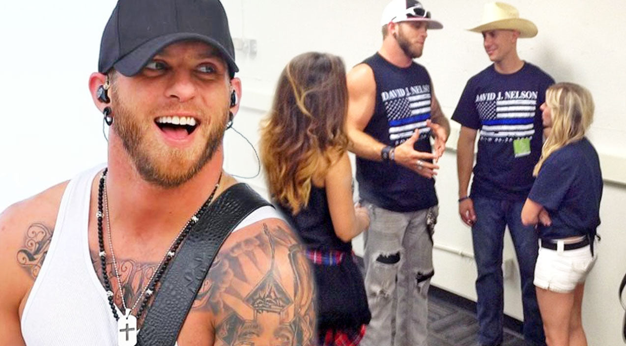 Brantley gilbert Songs | Brantley Gilbert Honors Bakersfield Officer At The Rose Bowl With