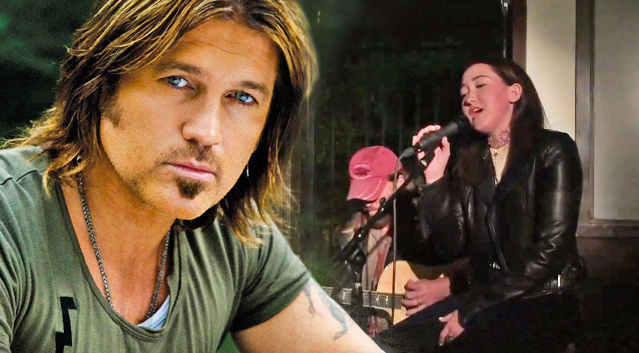 Noah cyrus Songs | Proud Papa Alert! Billy Ray Cyrus Joins Youngest Daughter As She Sings One Of His Biggest Hits | Country Music Videos