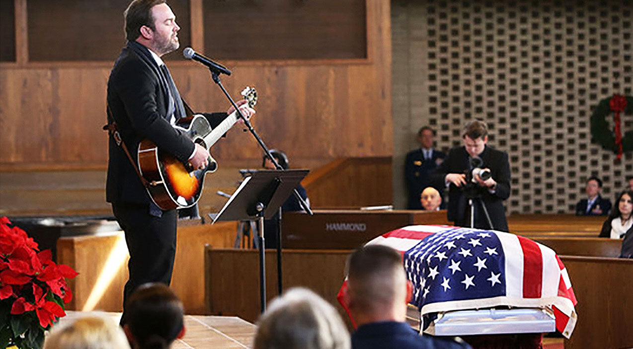 Modern country Songs | Country Star Performs 'Go Rest High' During American Hero's Funeral Service | Country Music Videos