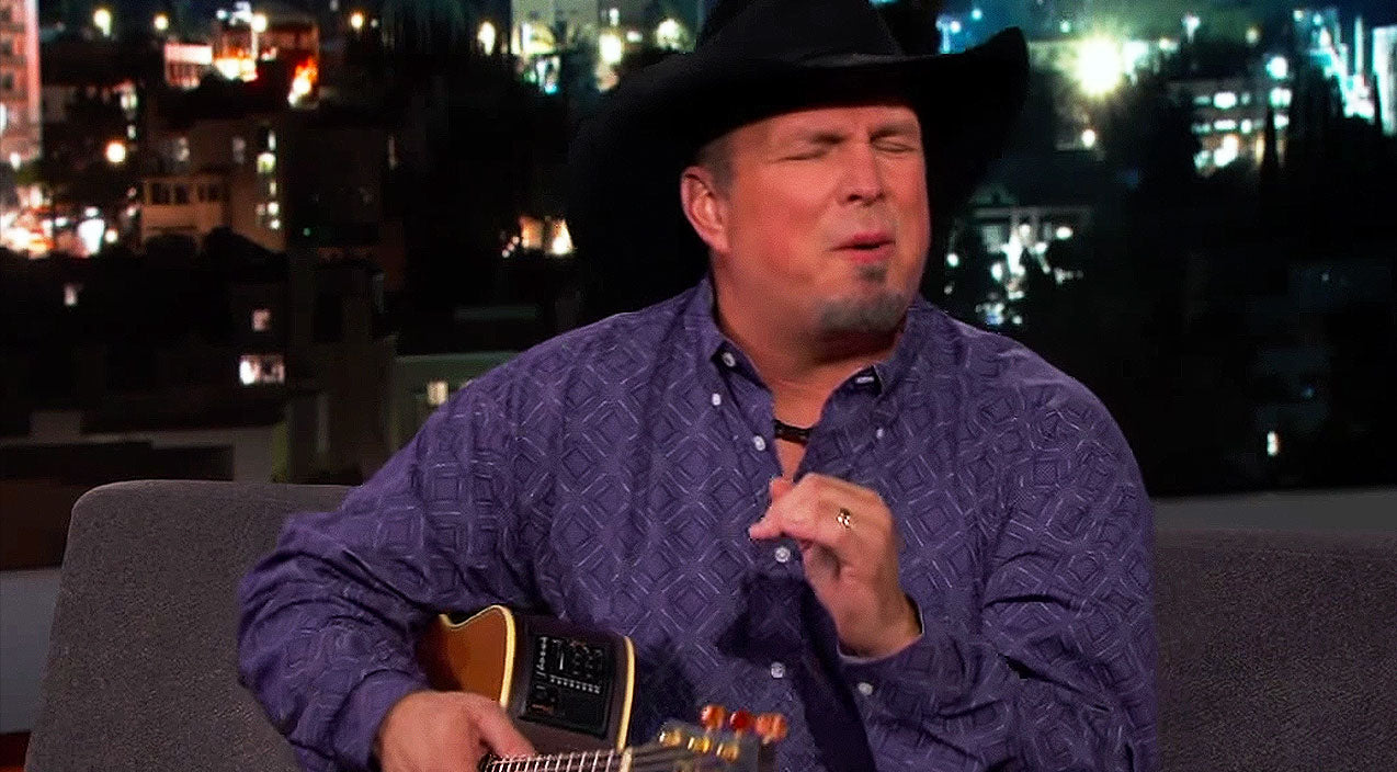 Garth brooks Songs | Garth Brooks Gives Brilliant Impression Of Legendary Singer | Country Music Videos