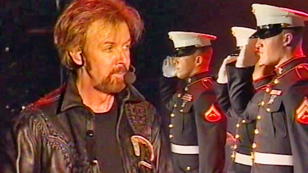Brooks and dunn Songs | Brooks and Dunn - Only In America (Featuring U.S. Marines) (LIVE) (VIDEO) | Country Music Videos